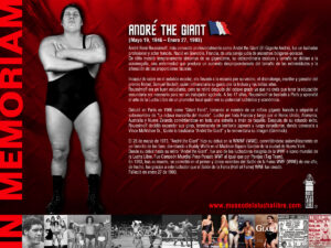 MLL Homenaje a Andre The Giant